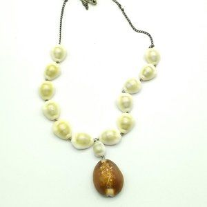 Vintage 1940s Cowrie Shell Necklace, Marshall
